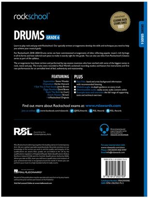 Rockschool Drums Grade 6 2018+