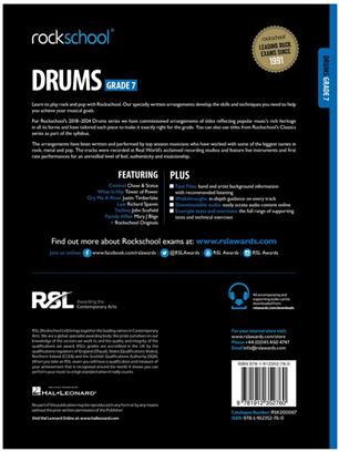 Rockschool Drums Grade 7 2018+