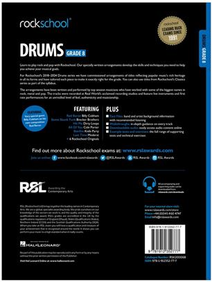 Rockschool Drums Grade 8 2018+