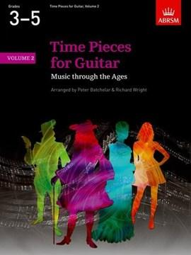 ABRSM: Time Pieces for Guitar Volume 3 (Grades 3 to 5)