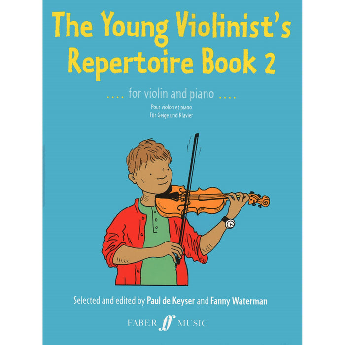 The Young Violinist Repertoire: Book 2