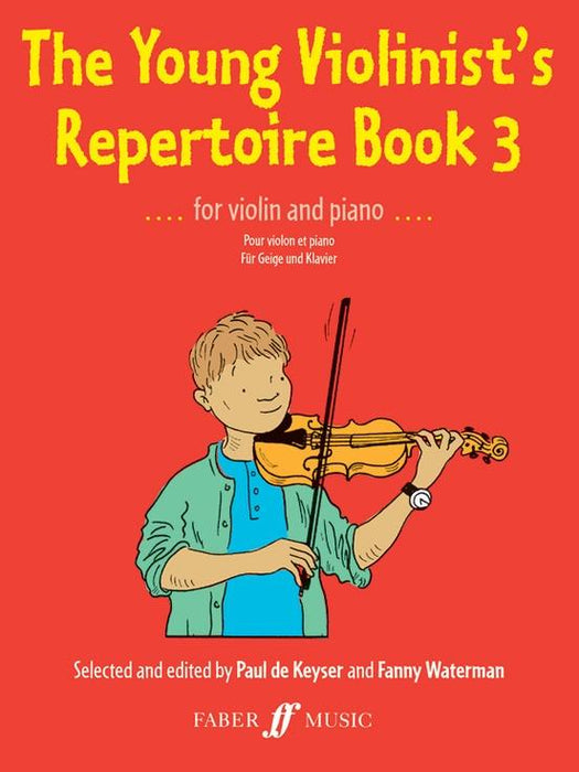 The Young Violinist Repertoire: Book 3