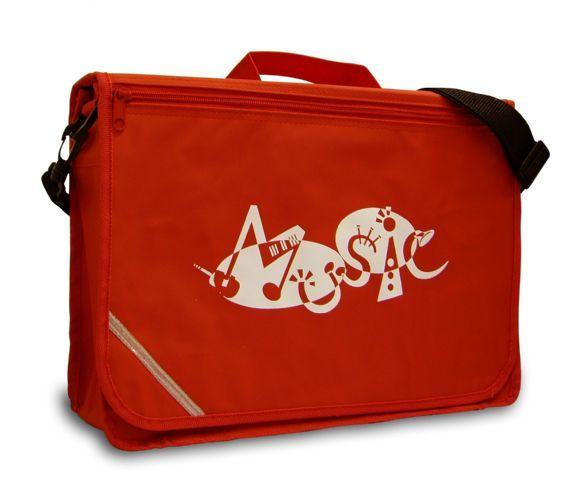 Red Excel Music Bag