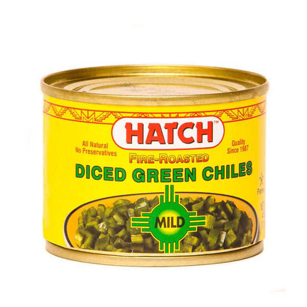 Hatch Diced Green Chiles