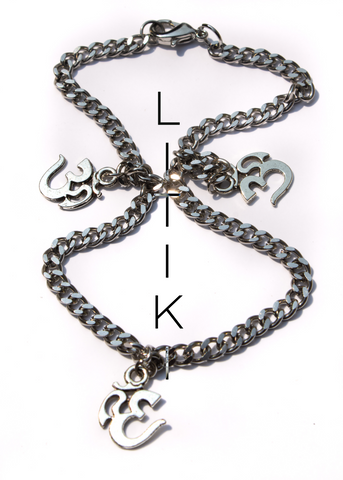"""Protected"" evil eye anklet"