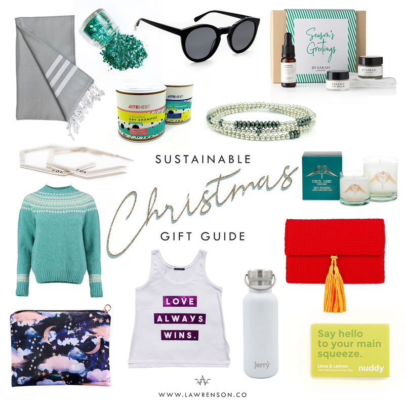 Lawrenson's Sustainable Christmas Gift Guide: 14 Glorious Ethical Gift Ideas