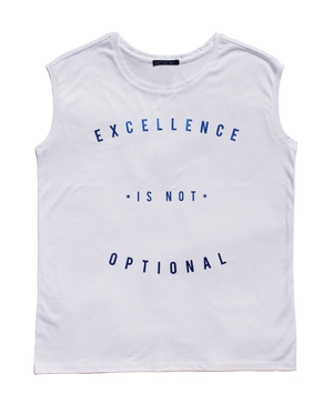 Excellence Is Not Optional - BLUE
