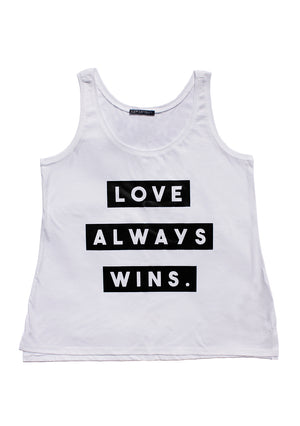 Love Always Wins - Black