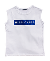Miss Chief - Metallic Blue