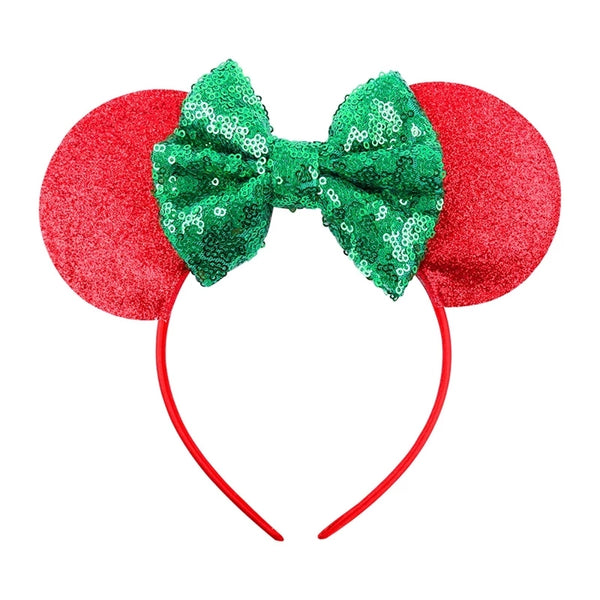 Holiday Mouse Ears Headband
