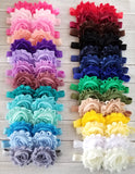 Pick 3 Headbands, Shabby Flower Headbands - LoliBean