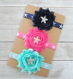 Starfish Headbands, Your Choice of Color - LoliBean