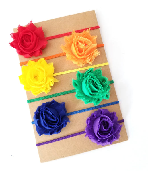 Rainbow Headband Set - LoliBean