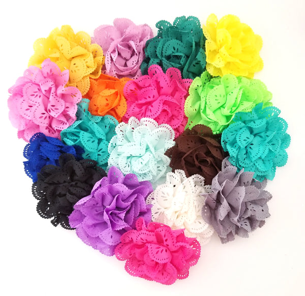 Eyelet Flower Hair Clip Grab Bag - LoliBean