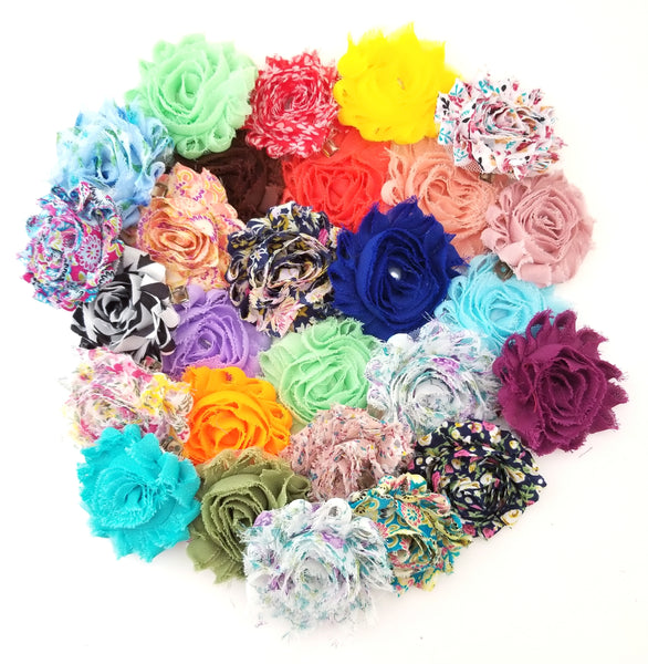 Shabby Flower Hair Clip Grab Bag - LoliBean