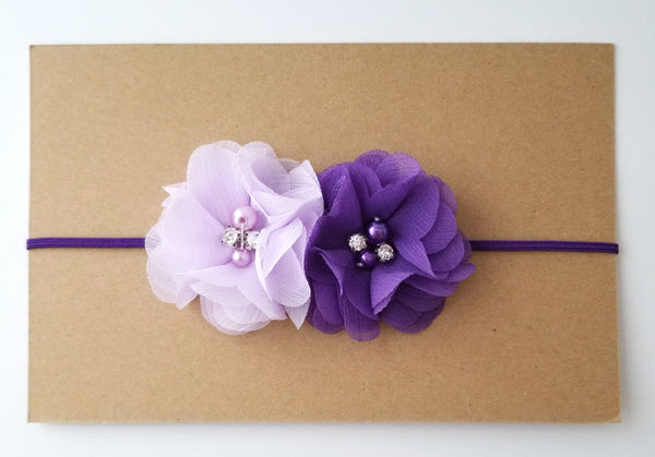 Purple and Lavender Headband - LoliBean