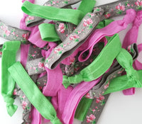Spring Floral Hair Tie Grab Bag - LoliBean