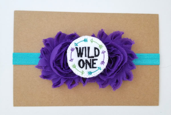 Wild One 1st Birthday Headband - LoliBean