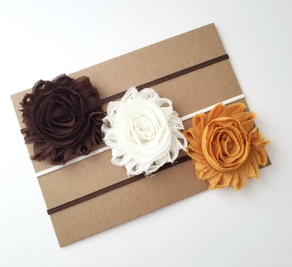 Fall Headband Set, Thanksgiving Headbands - LoliBean