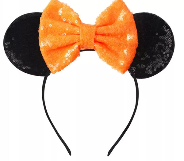 Halloween Mouse Ears Headband - LoliBean