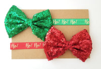 Red or Green Holiday Headband - LoliBean