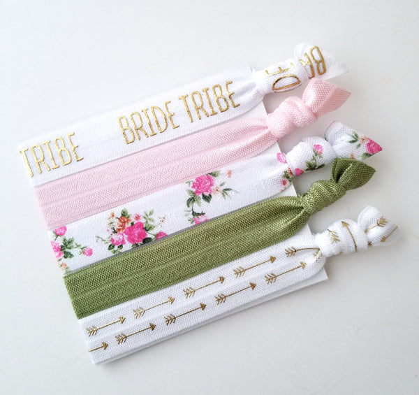 Bride Tribe Hair Ties, Bride Tribe