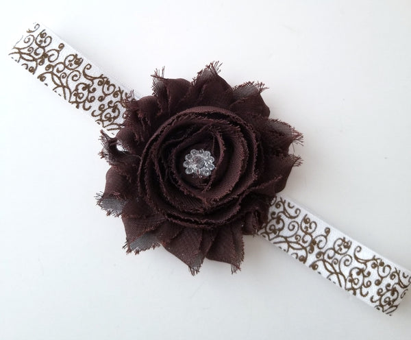 Brown Fall Headband