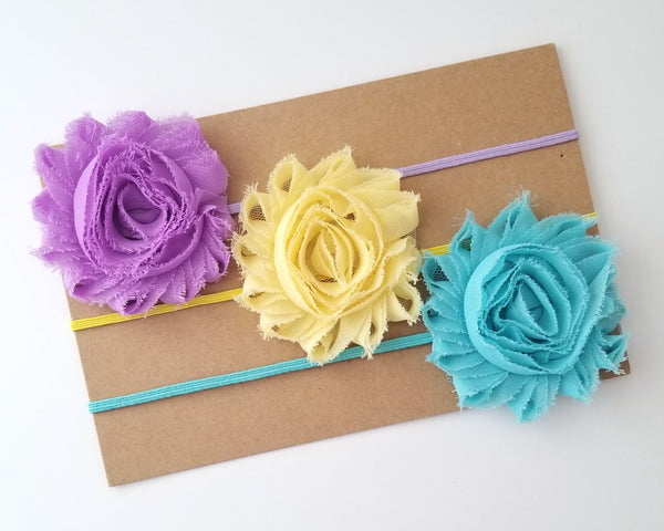 Set of 3 Pastel Headbands