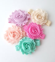 Set of 5 Pastel Headbands, Spring Headband Set