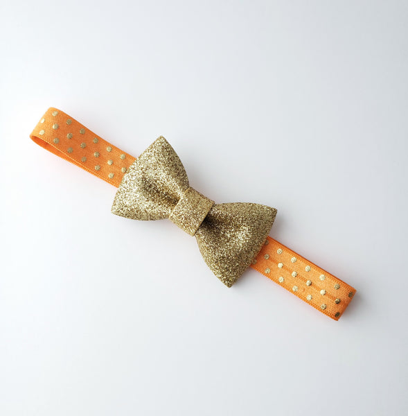 Orange & Gold Fall Headband