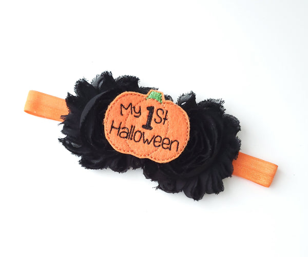 My 1st Halloween Headband