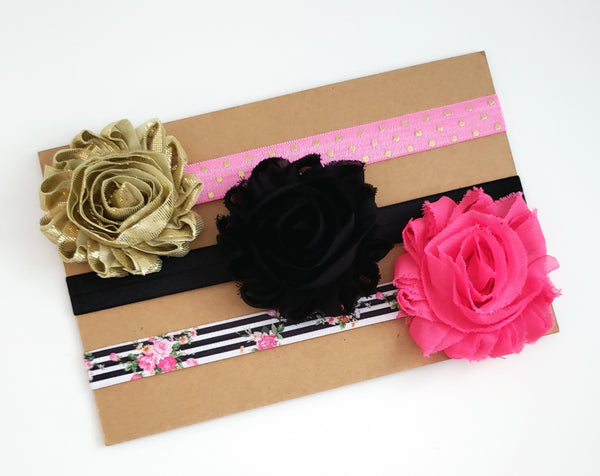 Headband Gift Set, Set of 3 Headbands