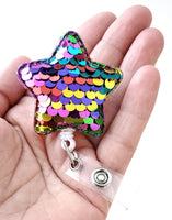 Deal of the Day, Reversible Sequin Badge Reel