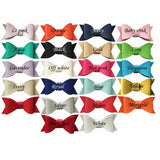 Pick 1 Faux Leather Bow Headband