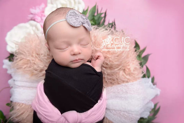 Mini Chiffon Bow Headband