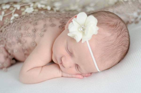 Newborn Headband, Your Choice of Color - LoliBean