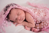 Lace Newborn Wraps, Your choice of color - LoliBean