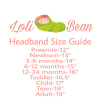 Gray Headband Set, Gray Headbands, Baby Girl Headbands - LoliBean