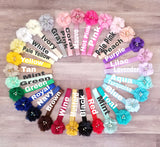 Pick 3 Baby Headbands, Newborn Headbands, Your choice of Colors - LoliBean