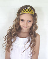 Gold or Silver Princess Crowns - LoliBean