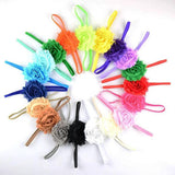 Your Choice of Color, Skinny Elastic Headbands - LoliBean
