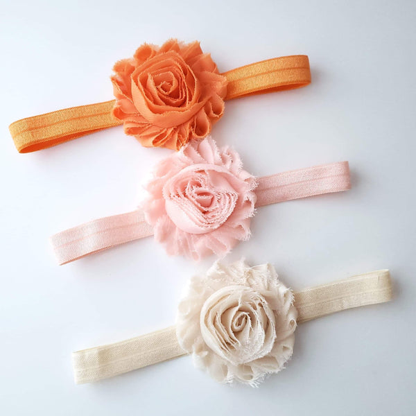 Set of 3 Headbands, Baby Headbands