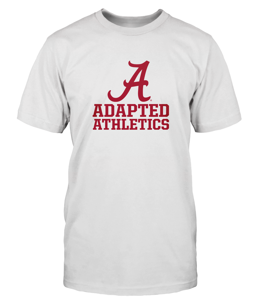 Adapted Athletics Alabama A - Comfort Colors White