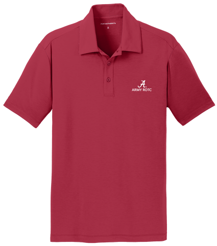 Army ROTC Men's Performance Golf Shirt - Crimson