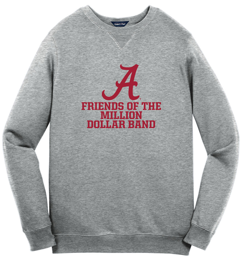 Friends of Million Dollar Band Sweat Shirt - Vintage Heather