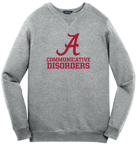 Dept. of Communicative Disorders Sweat Shirt - Vintage Heather