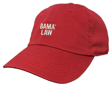 Bama Law Low Profile Cap