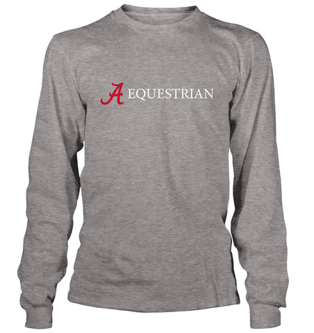 A Equestrian Logo - Long Sleeve
