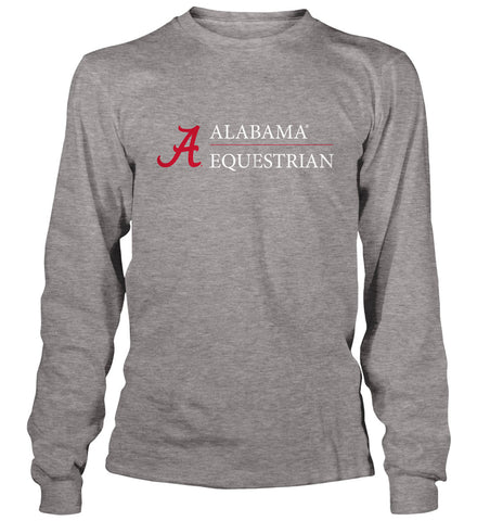 Alabama Equestrian Logo - Long Sleeve