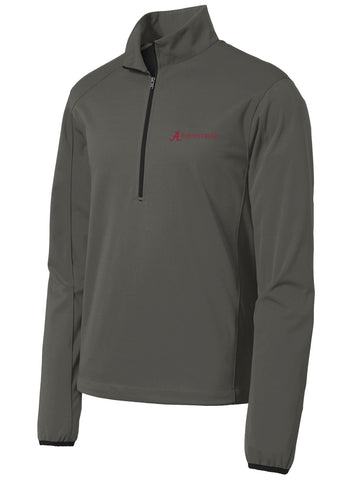 Alabama Equestrian Active 1/2-Zip Soft Shell Jacket